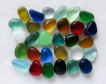 English Sea glass - Colours - Lot DC996