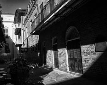 Shadows, French Quarter, New Orleans