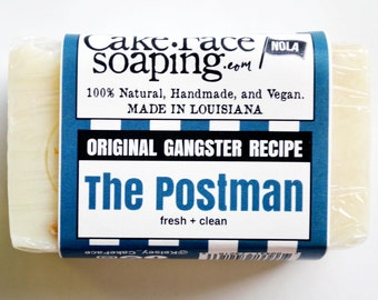 The postman fresh basil and patchouli