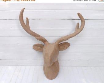 Faux Deer Head Etsy
