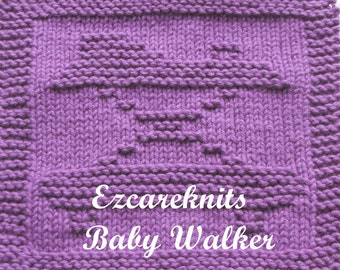 Knitting Cloth Pattern - BABY WALKER