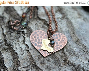 Spring Clean Sale Love Thy Neighbor - Antique Copper