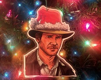 Indiana Jones CHRISTMAS ORNAMENT!