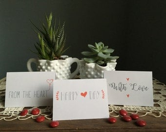Valentine Gift Tags (15 tags)