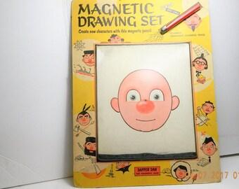 Dapper Dan Magnetic Drawing Set with original pencil