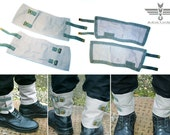 Military vintage MC spats army gaiters