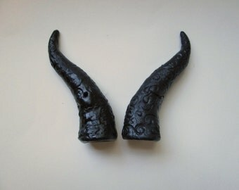 Cosplay custom made horns, Costume swirls horns, made to order