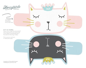 Kitty Cat Crowns
