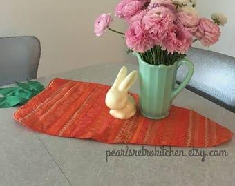 Easter Carrot Table Runner