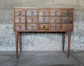 Reserved for Allisa, File Away.... Antique Library Card Catalog File, Library File, Card Catalogue, Card File, Dewey Decimal