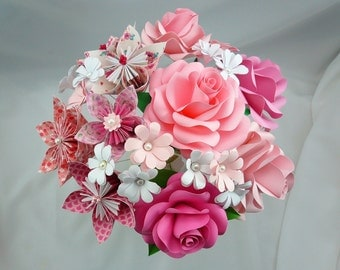 Pinky / Paper Flowers / Paper Roses