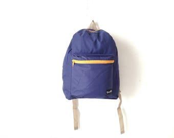 90s color block  BACKPACK adventure school KNAPSACK book bag nylon