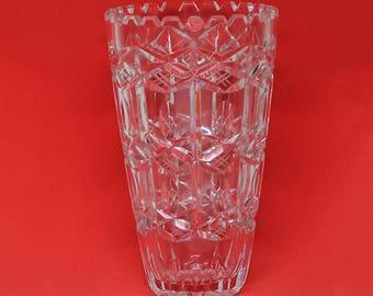 """Heavy 7"""" Crystal Vase"""