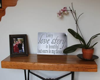 Love Sign | Metal Quote Sign | Inspirational Quote | Wall Decor |Love Quote Sign | Metal Wall Art | Wedding Decor | Wedding Gift