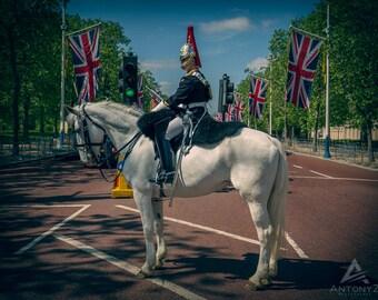 Queen's Guard London - London photo british decor England print Britain UK photo art print