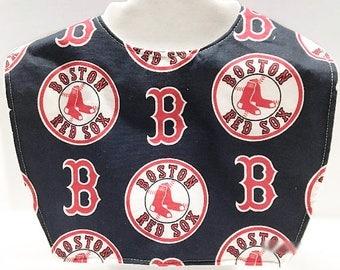 Boston Red Sox, Red Sox Baby, Baby Bibs, Toddler Bib, Red Sox, New Baby Gift, Baby Shower Gift, Handmade Baby, Baby Boy Gift, Baby Girl Gift