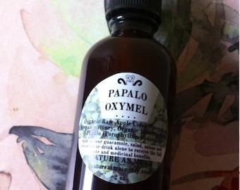 Organic Papalo Oxymel