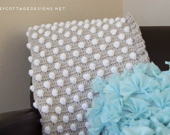 Daisy Cottage Designs Crochet Baby Blanket Pattern, Polka Dot Blanket Pattern, Easy Crochet Pattern