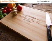 Love Personalized Sale - Personalized Cutting Board, Engraved Cutting Board, Personalized Wedding Gift, Housewarming Gift, Anniversary Gift