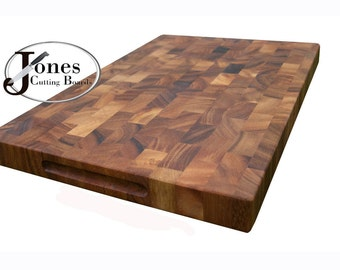Acacia End Grain Cutting Board Butcher Block