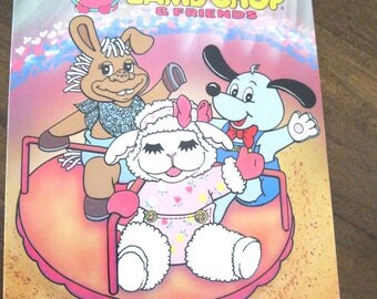 Vintage 1990s Baby Lambchop and Friends Coloring Book UNUSED