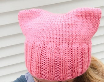 IN STOCK- Strawberry Pussy Hat