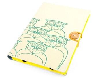 Owls / iPad mini case, Kindle case, iPad mini cover, kindle cover, Kindle paperwhite case, voyage, Kobo, arc, Sony xperia Z3, case, handmade