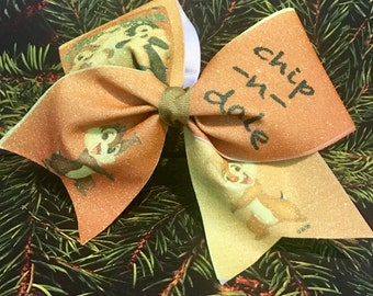 Chip & Dale Cheer Bow
