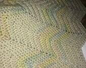 Chevron Baby Blanket for Josh Miller