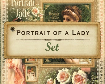"""Graphic 45 """"Portrait of a Lady""""12 Sheets 12x12"""
