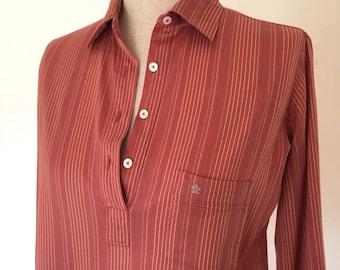 Vintage 70s Striped Knit Shirt