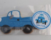 Little Blue Truck Favor Tags or Stickers