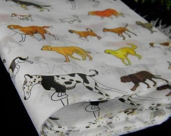 Dogs of many Breeds Pattern Tissue Paper Sheets - Puppy Dog Party Gift Wrapping Paper - Canine Cuties Craft Tissue - Supplies - 12 sheets
