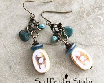 E018 OCEAN TRIBE Earrings