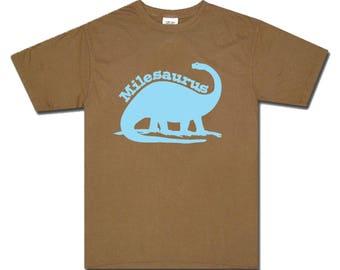 Dinosaur Shirt Brontosaurus - any name - pick your colors!