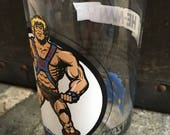 He-Man Masters of the Universe collectible glass