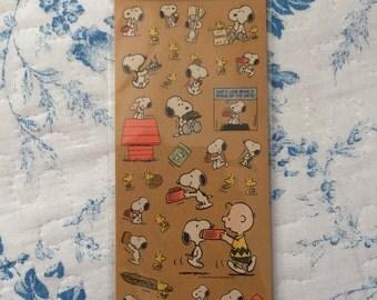 NEW Snoopy Sticker sheet B
