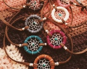 DCB-05, handmade eco-friendly baby dreamcatcher bracelet