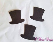 Top Hat, Bow Tie, and Moustache Die Cuts
