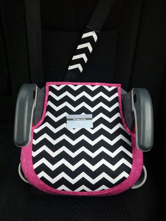 Graco Turbo Booster seat cover, padded & made to order-without armrest covers