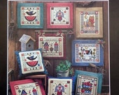 50%OFF Designs On 11 Count COUNTRY PLEASURES By Dimensions (Multiple Designs)  - Counted Cross Stitch Pattern Chart