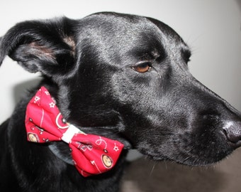 Ohio State Print Dog Bow/Bow Tie Accessory