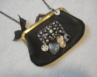 Handmade Coin Purse Necklace