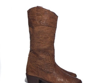 SALE 6.5 B | Banana Republic Travel & Safari Clothing Co. Brown Leather Mid Calf Boots