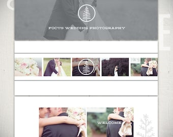Facebook Timeline Cover Templates: Focus - 3 Facebook Covers