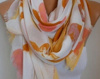 ON SALE --- Summer Cotton Scarf,So soft,Shawl Cowl Scarf Bridal Accessories bridesmaid gift Gift Ideas For Her Women's Fashion Accessories,T
