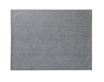 Indigo Hickory Stripe Placemat Set