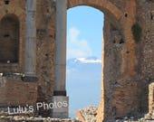 Landscape Photography, A View of Mt Etna, Sicily, Fine Art Photography