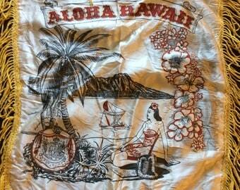 Hawaiian Souvenir Pillow Cover