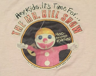 Vintage Mr. Bill Saturday Night Live T-Shirt